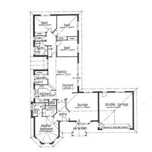 PLAN 2 | 4 Bed | 2 Bath | 21.53SQ