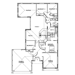 PLAN 4 | 3 Bed | 2 Bath | 23.5 SQ