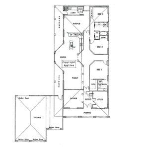 PLAN 5 | 3 Bed | 2 Bath | 21.70 SQ