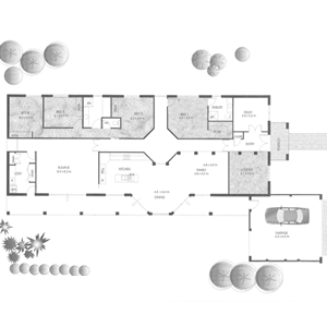 PLAN 5 | 4 Bed | 2 Bath | 27.0 SQ