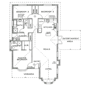 PLAN 6 (Option) | 3 Bed | 2 Bath | 14.5 SQ