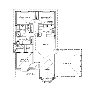 PLAN 6 | 3 Bed | 2 Bath | 14.5 SQ