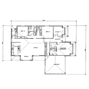 PLAN 10 | 3 Bed | 2 Bath | 20.00 SQ