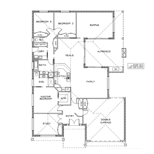 PLAN 12 | 3 Bed | 2 Bath | 28.41 SQ